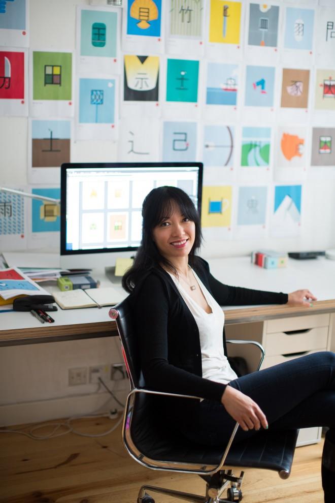 ShaoLan Hsueh photographed in London. Photo Rick Pushinsky.